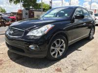 Options:  2012 Infiniti Ex35 Journey|Black Obsidian/|V6