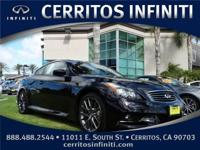 1 PROPRIETOR IPL G37 COUPE !! Infiniti Certified,