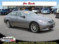New Arrival! This 2012 Infiniti G37 Sedan x Includes
