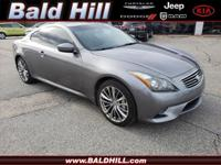 Recent Arrival! G37 X, 3.7L V6 DOHC 24V, 7-Speed