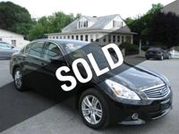 2012 Infiniti G37 xAWD Sedan, One Owner, Clean Carfax
