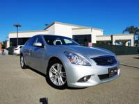 Options:  2012 Infiniti G37 Journey|Silver|When Was The