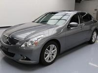 This awesome 2012 Infiniti G37 comes loaded with the