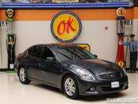 This 2012 INFINITI G37 Sedan Journey is in excellent