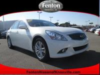 This exceptional example of a 2012 Infiniti G37 Sedan