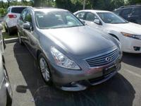 Get excited about the 2012 Infiniti G37x! It