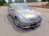 A must-see, must-drive, our 2012 INFINITI G37 is just