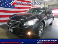 New Price! Black 2012 INFINITI M37 X AWD 7-Speed