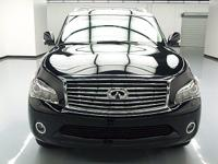 This awesome 2012 Infiniti QX56 comes loaded with the