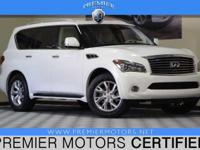 Options:  2012 Infiniti Qx56 White|5.6L V8|Automatic