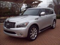 2012 INFINITI QX56 2WD 8-PASSENGER 4-DOOR SUV...AN