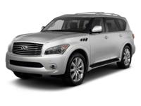 Options:  2012 Infiniti Qx56 7-Passenger|Black