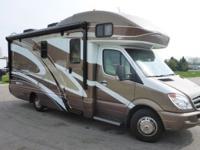 2012 Itasca Navion IM524M 24' Long Motor Home, 12,343