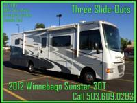 Sunstar. With so many options built to Winnebagos