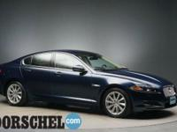 Loaded with new tires!!!Blue 2012 Jaguar XF5.0L V8 32V