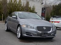 2012 Jaguar XJ Supercharged Finished with an Lunar Gray