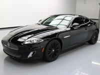 This awesome 2012 Jaguar XK comes loaded with the