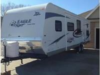 2012 Jayco Eagle Super Lite travel trailer with bunk