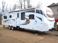 2012 Travel trailer, excellent condition, like new.