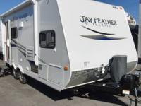 Single Slide Jay Feather Ultra Lite Travel Trailer,