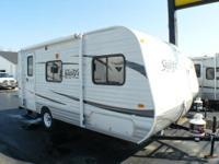Air, Awning, Jacks, Front Bed, Back Bath, Booth