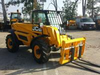 2012 JCB 524-50 524-50 Telehandler RPO Return Unit.