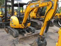 2012 JCB 8035 ZTS Mini Excavator 2012 JCB 8035 ZTS Mini