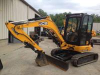 2012 JCB 8035ZTS JCB 8035 Mini Excavator Cab and