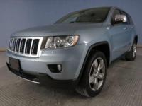 This extremely clean Grand Cherokee Overland 4X4 with