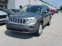 Mineral Gray Metallic 2012 Jeep Compass Latitude 4WD
