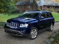 Deep Cherry Red Crystal 2012 Jeep Compass Latitude 4WD