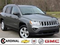 New Price! 2012 Jeep Compass Latitude Mineral Gray