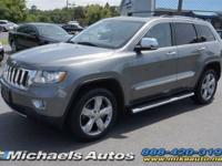 Jeep Grand Cherokee Overland 4WD with V8 HEMI. Loaded