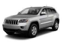 Options:  2012 Jeep Grand Cherokee Laredo|White/|V6