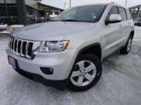 Options:  2012 Jeep Grand Cherokee Laredo|Silver|*Local