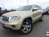 Options:  2012 Jeep Grand Cherokee Limited|Gold|Media