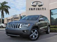2012 Jeep Grand Cherokee Overland, Only 32601 Miles,