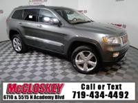 Low miles and pristine 2012 Jeep Grand Cherokee