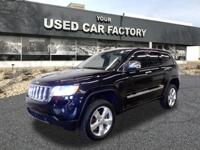 Options:  2012 Jeep Grand Cherokee Overland|4X4