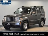 CARFAX One-Owner. 2012 Jeep Liberty Sport 4WD 4-Speed