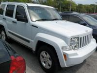 Options:  2012 Jeep Liberty Sport|White|3.73 Axle
