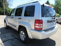 Options:  2012 Jeep Liberty Sport|Bright Silver