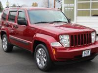 Red 2012 Jeep Liberty Sport 4WD 4-Speed Automatic VLP