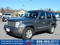 Options:  2012 Jeep Liberty Sport|4X4 Sport 4Dr Suv|One