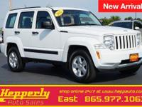 Clean CARFAX. This 2012 Jeep Liberty Sport in Bright