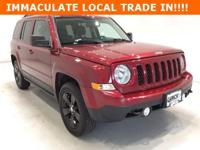 Options:  2012 Jeep Patriot Latitude|Red|**** 4X4 ****
