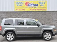CARFAX One-Owner. Clean CARFAX. Grey 2012 Jeep Patriot