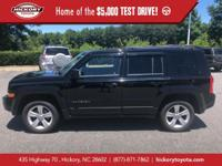 Black Clearcoat 2012 Jeep Patriot Latitude 4WD CVT 2.4L