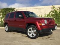 Deep Cherry Red Crystal Pearlcoat 2012 Jeep Patriot