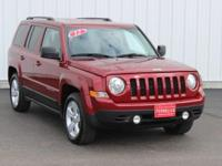 Options:  2012 Jeep Patriot Latitude|Red|Full Exterior